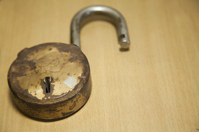 HRMS security threat - broken lock