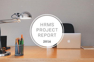 2016 hrms project report - article