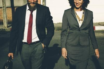 workforce trends - people in suits